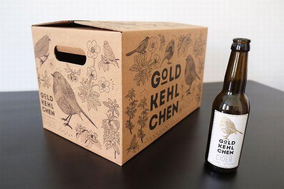 Goldkehlchen branding & packaging by Bureau FFabienne