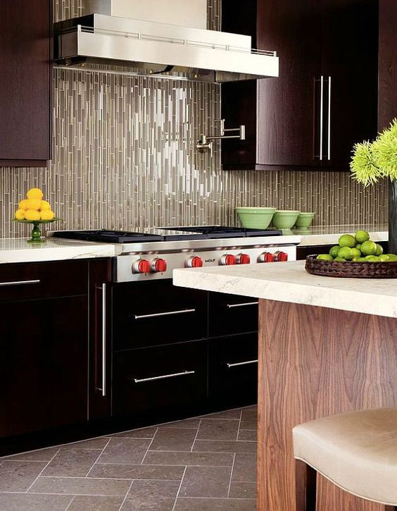 tip 200 add height to your kitchen with vertical lines walker zanger tile