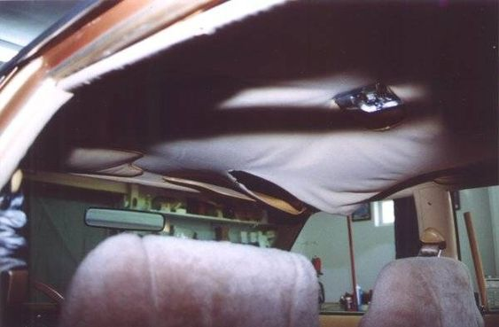 Car interiors to fix and ceilings on pinterest for How to fix car interior roof