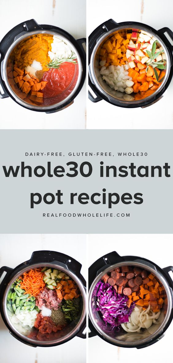 Easy Whole30 Instant Pot Recipes