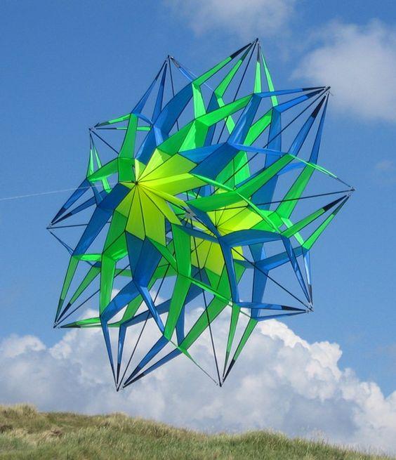 Ten Point Double Star Kite More