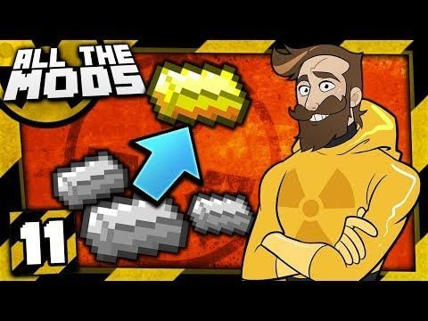 Minecraft All The Mods Nuclear 11 Alchemy With Images Mod Nuclear Minecraft Mods