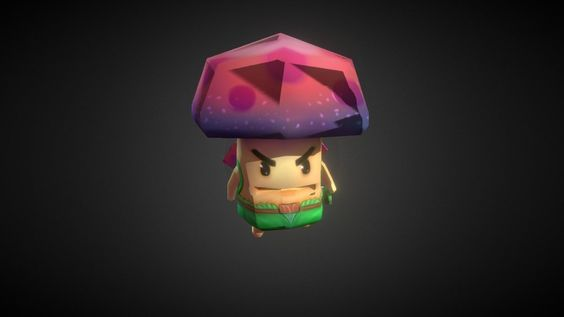 Mushi the Brave Mushroom by gem