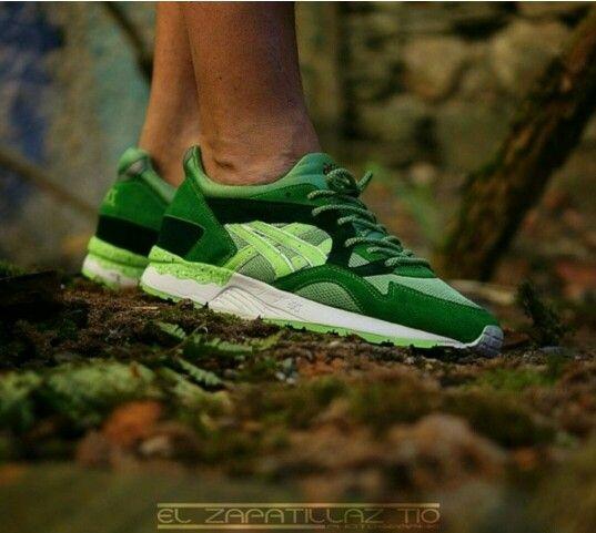 Asics Gl V 'Lime Green