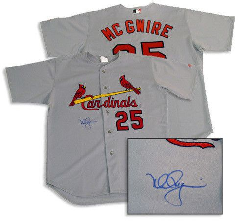 Mark McGwire Rawlings Road Cardinals Jersey