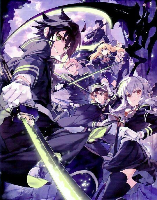 Pin De Uh En последний серафим Arte De Anime Personajes De Anime Fondo De Anime