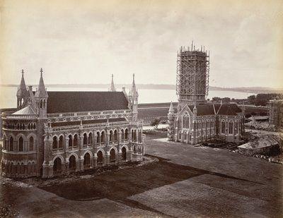 Bombay University (aka Mumbai University) Fort Campus 1870