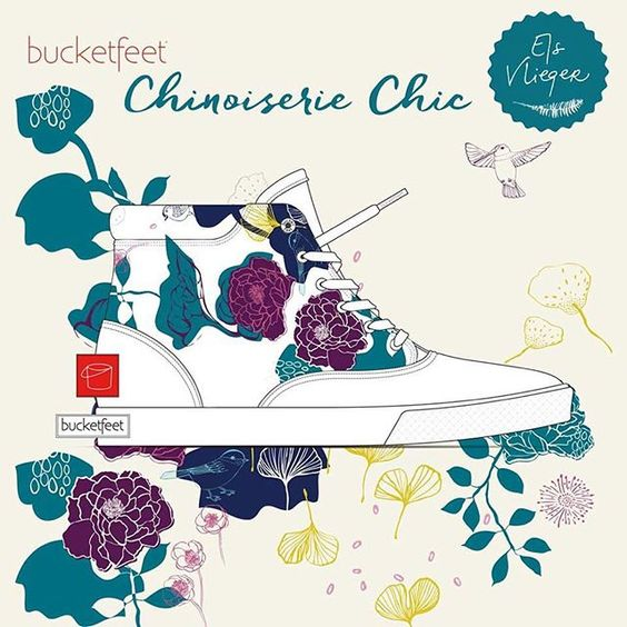 Hi there, it's me again with some @Bucketfeet news. Two of my designs are this close to be turned into cool sneakers. Would you fancy wearing them on a hot summer day? Voting for them would be really, really appreciated (link in profile)! I made this little mockup so you can easily recognize them in the list.  Thanks so much!: