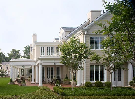 Love all the windows and patios...beautiful