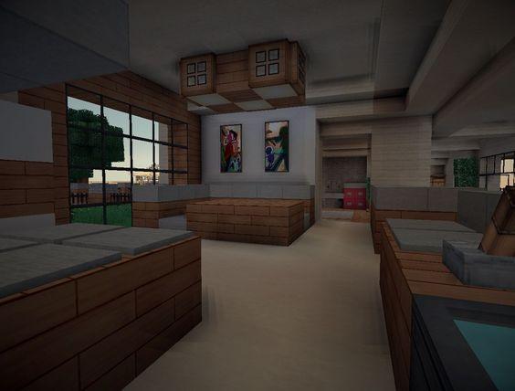 kitchen designs kitchens minecraft furniture kitchen modern style - minecraft küche bauen
