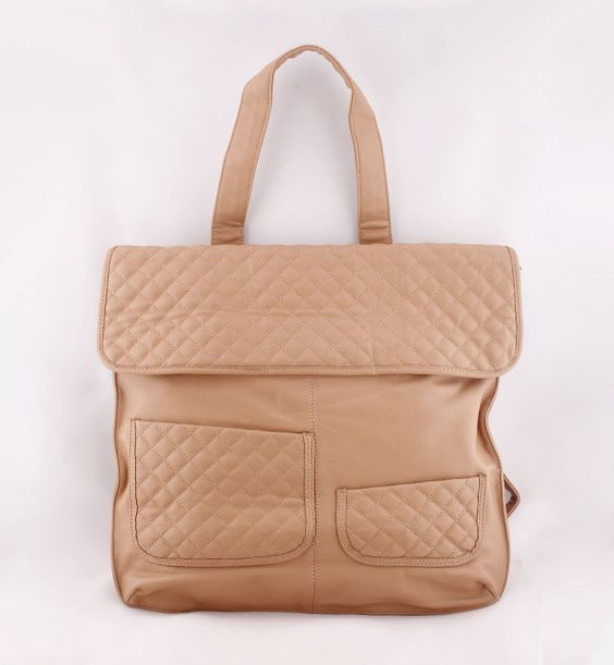Light brown bag for women