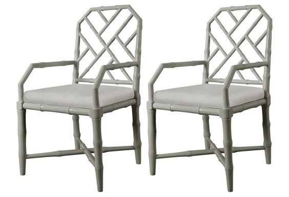 bungalow 5 chinese chippendale chairs