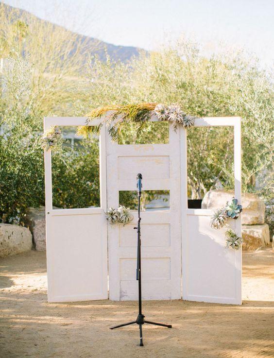 puerta de la vendimia ceremonia airplant telón de fondo