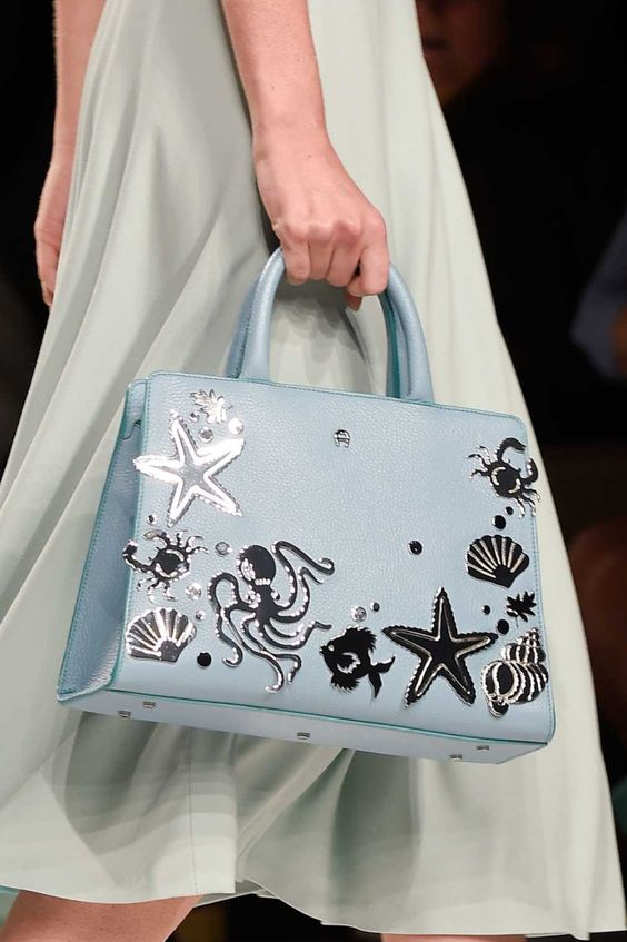 A bag from the Aigner spring 2016 collection. Photo: Imaxtree.