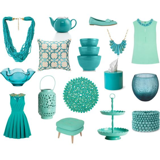 """Turquoise"" by cholaola on Polyvore"