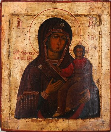 Icon of the Smolenskaya Mother of God (18th century)