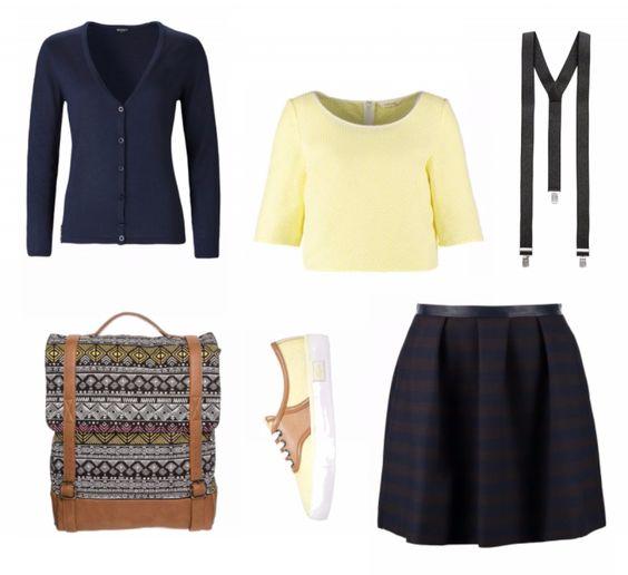 #Frühlingoutfit Back to School ♥ #outfit #Damenoutfit #outfitdestages #dresslove