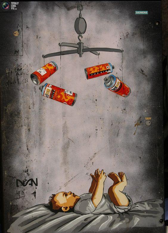 Bebê de Banksy                                                                                                                                                     Mais