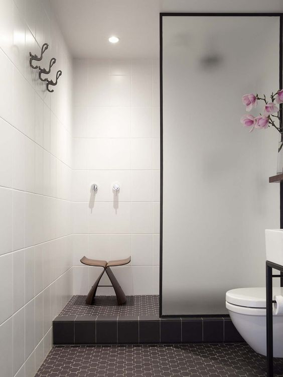 The bathroom a windowless space in carroll 39 s small for Windowless bathroom design ideas