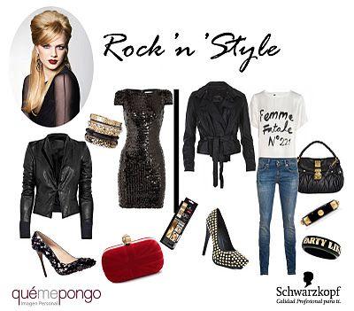 Las claves para un look Rock 'n' Style