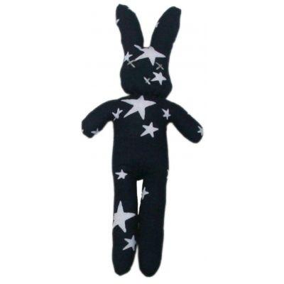 Doudou Bunny Navy/Blanc - Le Marchand d'Etoiles