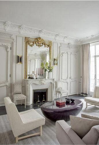 A Paris Apartment Habitually Chic 174 Parisian Chic At Its