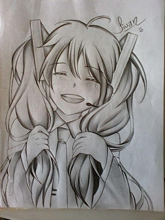 Dibujos A Lapiz Anime Dibujos Dibujo A Lapiz Anime Dibujos Kawaiis
