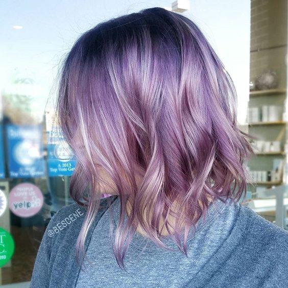 I R I D E S C E N T ~ using all @Schwarzkopfusa! Blends of Mauve and Blush tones with a deep Indigo Brown base. Cut✂ & Color by me . #brazilianbondbuilder #b3 added to my #blondme during my balayage. #BESCENE: