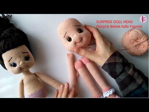 Telli Amigurumi Bebek Yapımı 2 | CROCHET Amigurumi Tutorial ... | 360x480