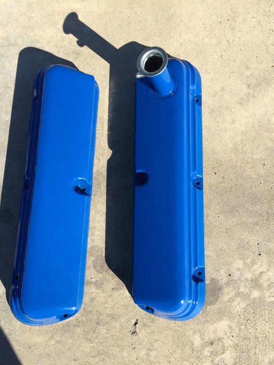 FORD blue powder coated.