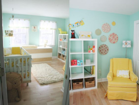 nursery. light and cheerful.