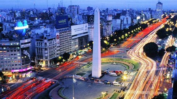 Buenos Aires, Argentina; Capital city with the second largest metropolitan area
