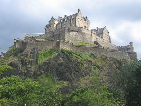 Scotland! Edinburgh Castle, Scotland
