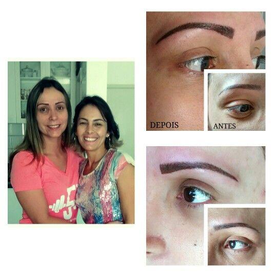 Micropigmentação (ANTES e DEPOIS)