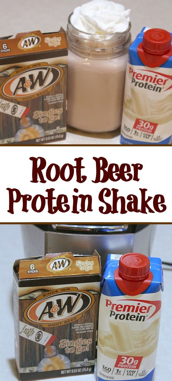 Root Beer Protein Shake Recipe