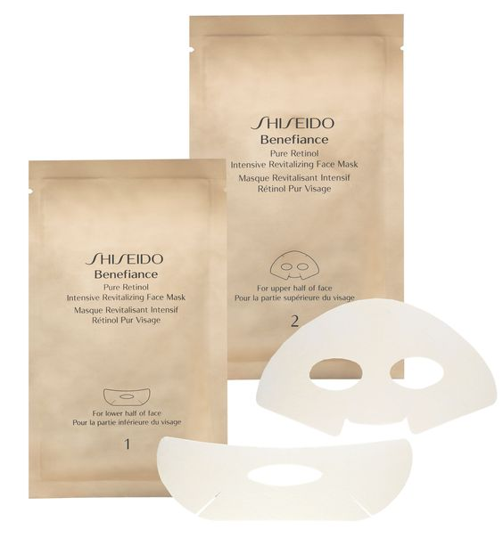Prescriptives Shiseido 4 pure retinol intensive revitalising Shiseido benefiance pure retinol intensive revitalizing face mask. This concentrated treatment sheet mask encourages the skins natural recovery function and provides a rich infusion of moisture whilst http://www.comparestoreprices.co.uk/health-and-beauty/prescriptives-shiseido-4-pure-retinol-intensive-revitalising.asp: Mask X4, Face Masks