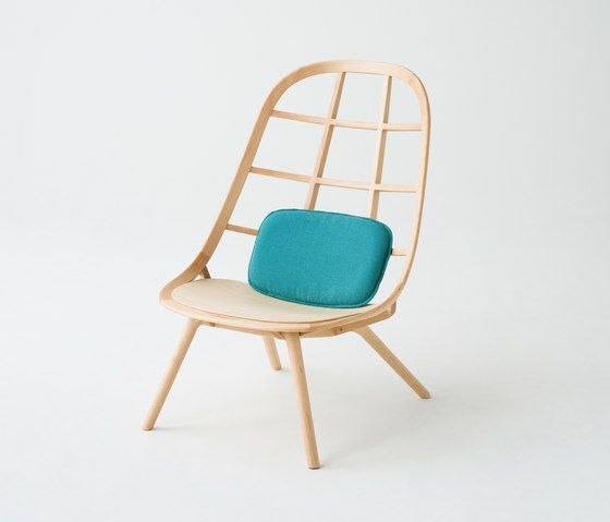 Nadia Lounge Chair Natural von Meetee   Loungesessel