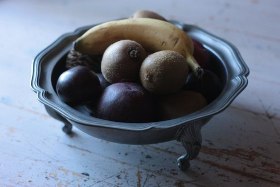 Heavy Weight French Vintage Pewter Plate, or Fruit Bowl for a Country Kitchen by FarmGateVintage on Etsy
