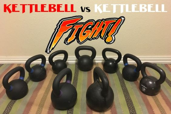 The most comprehensive #kettlebell comparison we have ever come across! #kettlebells #kettlebellworkout #kettlebellmovement #hiit #workout