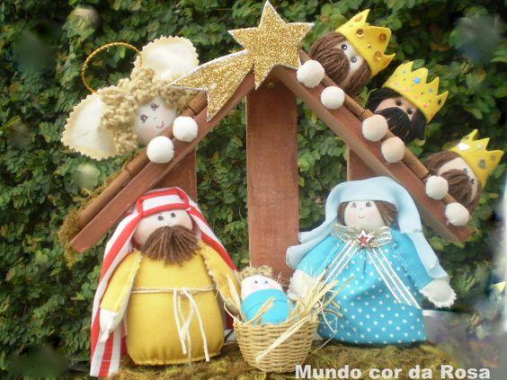 Ceci EuQfiz: Presépio Nascimento de Jesus
