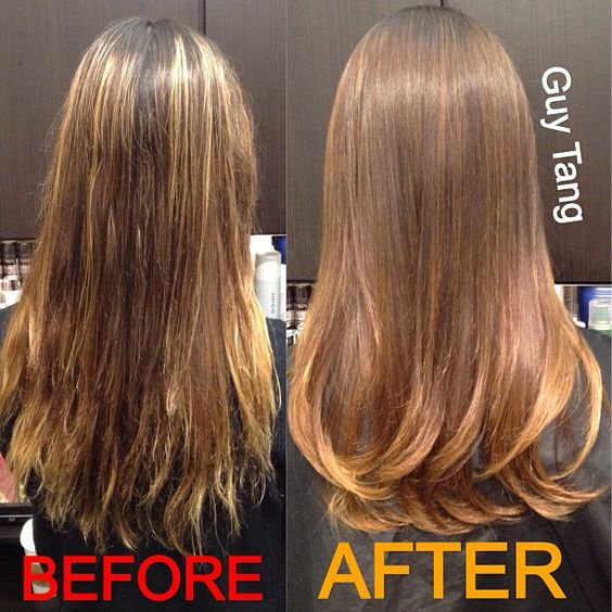 Ombre Hair - Color correction I did today! Only took 2hrs yayyyy !