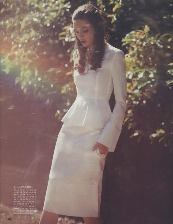 """Variations On Simplicity"" : Carola Remer : Vogue Japan July 2012 : David Bellemore 