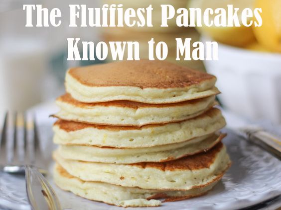 The Fluffiest Pancakes Known to Man | SaucyRecipes.com