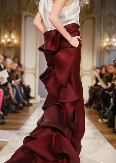 Christophe Josse, Spring 12 couture