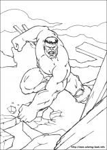 Hulk coloring pages on Coloring-Book.info