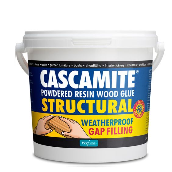 Polyvine Cascamite Powdered Resin Wood Glue Specifically Formulated For Exterior Joinery