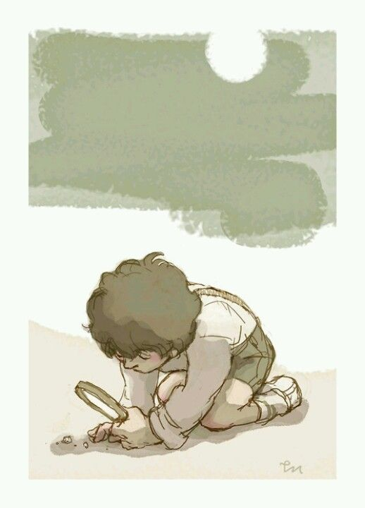 Tiny Sherlock. Stolen from Double Negative Means Yes on tumblr.