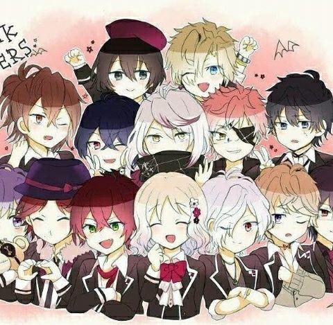 Diabolik Lovers (Lost Eden) #Anime #Game #Otome