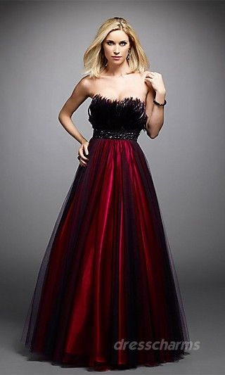 evening dress black and red | Dresses and other fanciness ...