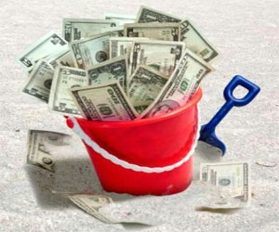 Buckets of Money